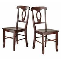 Renaissance 2-Pc Set Key Hole Back Chairs