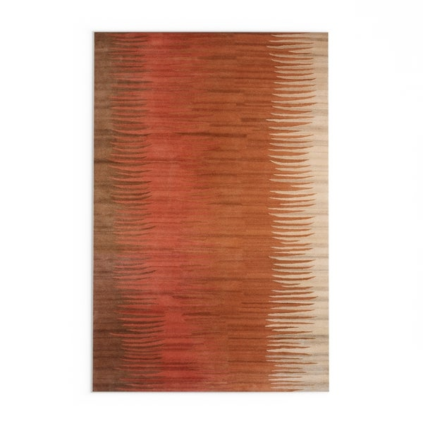 The Curated Nomad Baden Hand-tufted New Zealand Wool Area Rug - 8' X 11'