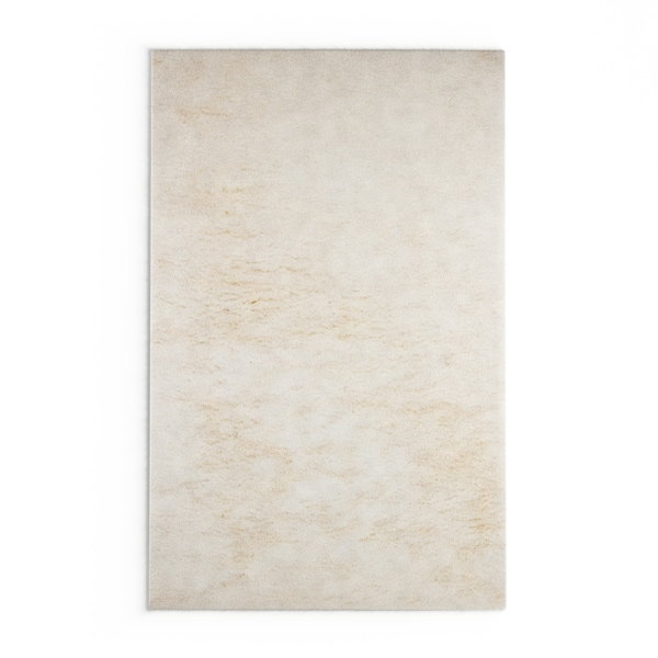 The Curated Nomad Baden Soft Wool Shag Area Rug - 8' x 10'