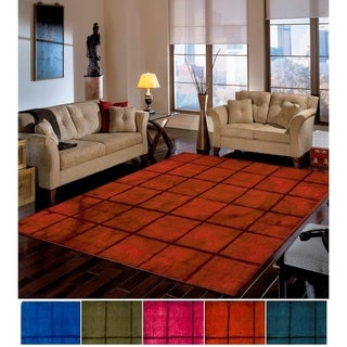 The Curated Nomad Rivoli Handmade Geometric Wool Area Rug