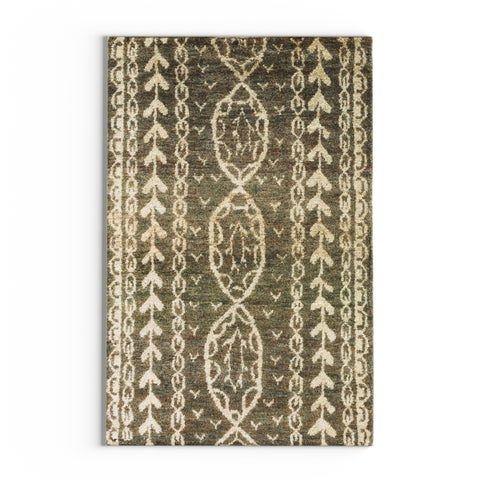 The Curated Nomad Clarendon Hand-knotted Hemp Area Rug