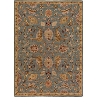 Hand-Tufted Alton Floral Wool Rug (5' x 8')
