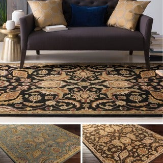 Copper Grove Arabath Hand-Tufted Floral Wool Area Rug