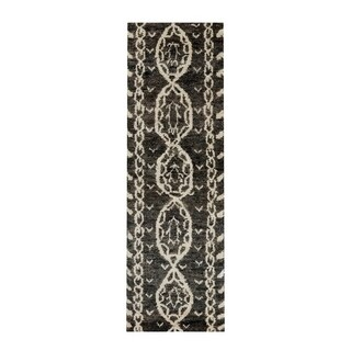 The Curated Nomad Clarendon Tribal Hand-knotted Jute Runner Rug