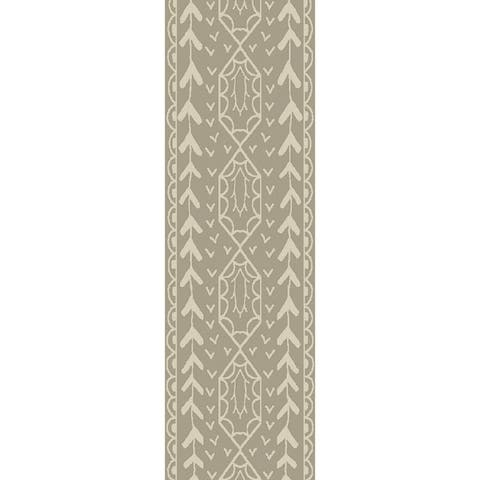 The Curated Nomad Clarendon Hand Knotted Bohemian Jute Area Rug