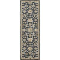 Copper Grove Kavir Hand-Tufted Floral Wool Runner Rug - 2'6 x 8'