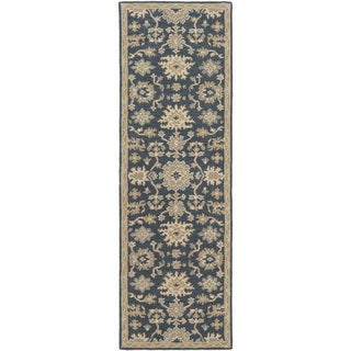 Copper Grove Kavir Hand-Tufted Floral Wool Area Rug - 2'6 x 8'