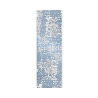 Carbon Loft Torricelli Distressed Abstract Area Rug
