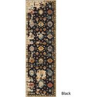 The Curated Nomad Esmeralda Hand-tufted Wool Distressed Runner Rug - 2'6 x 8'
