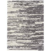 The Curated Nomad Chapman Striped Abstract Area Rug - 7'10 x 10'2