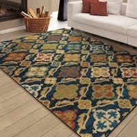 Clay Alder Home 10th Avenue Sicilian Waters Multi Area Rug - 7'10 x 10'10