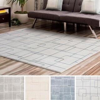 Strick & Bolton Mueck Trellis Design Modern Area Rug