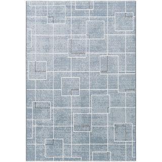 Strick & Bolton Mueck Trellis Design Modern Area Rug (Blue - 311 x 57)