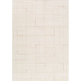 Strick & Bolton Mueck Trellis Design Modern Area Rug (Cream - 311 x 57)
