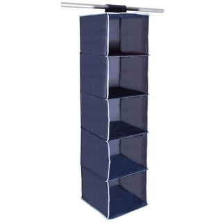 STORAGE MANIAC 5 Shelf Hanging Closet Organizer