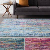 Clay Alder Home Fisher Rainbow Modern Woven Area Rug
