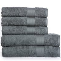 Cotton Oversize Bath Sheets and Bath Towels (5 Pack)