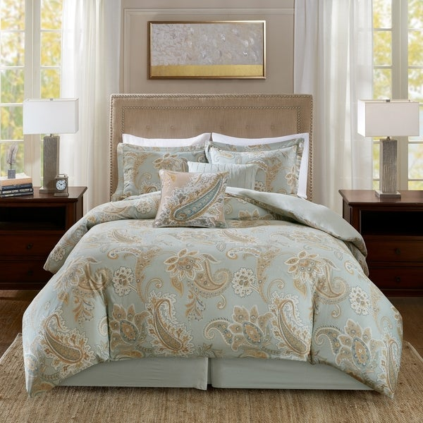 Harbor House Sienna Multi Cotton Printed 6 Piece Comforter Set