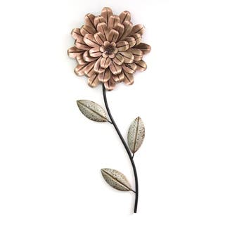 Stratton Home Decor Romantic Flower Stem Wall Decor