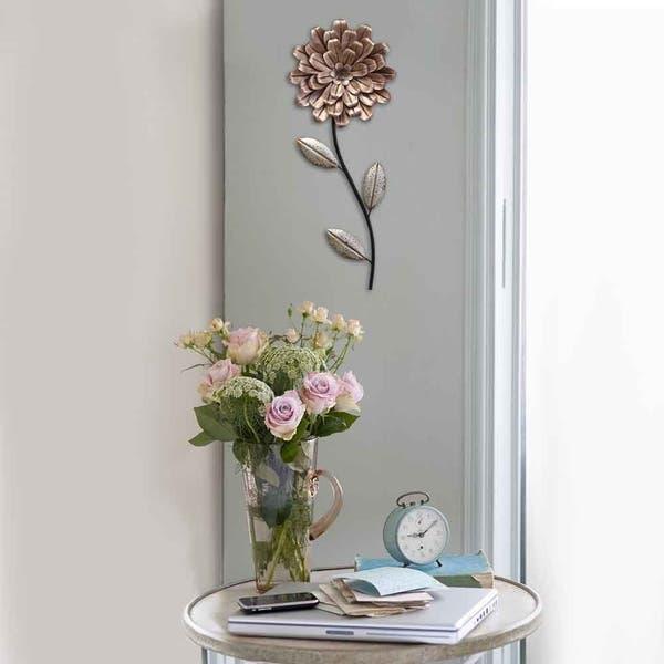 Stratton Home Decor Romantic Flower Stem Wall Decor Overstock 20738476