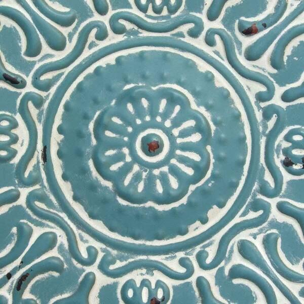 Stratton Home Decor Small Blue Medallion Wall Decor Overstock 20738700