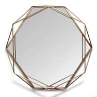 Stratton Home Decor Chloe Metal Wall Mirror