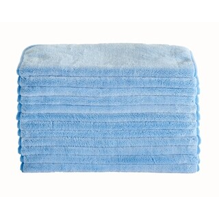 Oversized Double Layer Microfiber Cleaning Cloth - 24 Pack