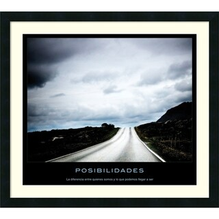 Link to Framed Art Print 'Posibilidades' 30 x 27-inch Similar Items in Art Prints