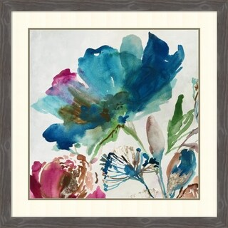 Framed Art Print 'Blossoming II' by Asia Jensen 35 x 35-inch
