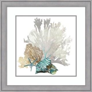 Framed Art Print 'Coral' by Aimee Wilson 28 x 28-inch