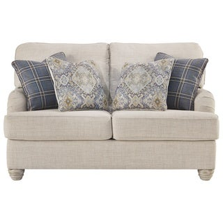 Signature Design by Ashley, Traemore Casual Linen Loveseat