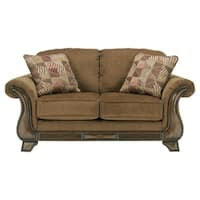 Montgomery Traditional Mocha Loveseat