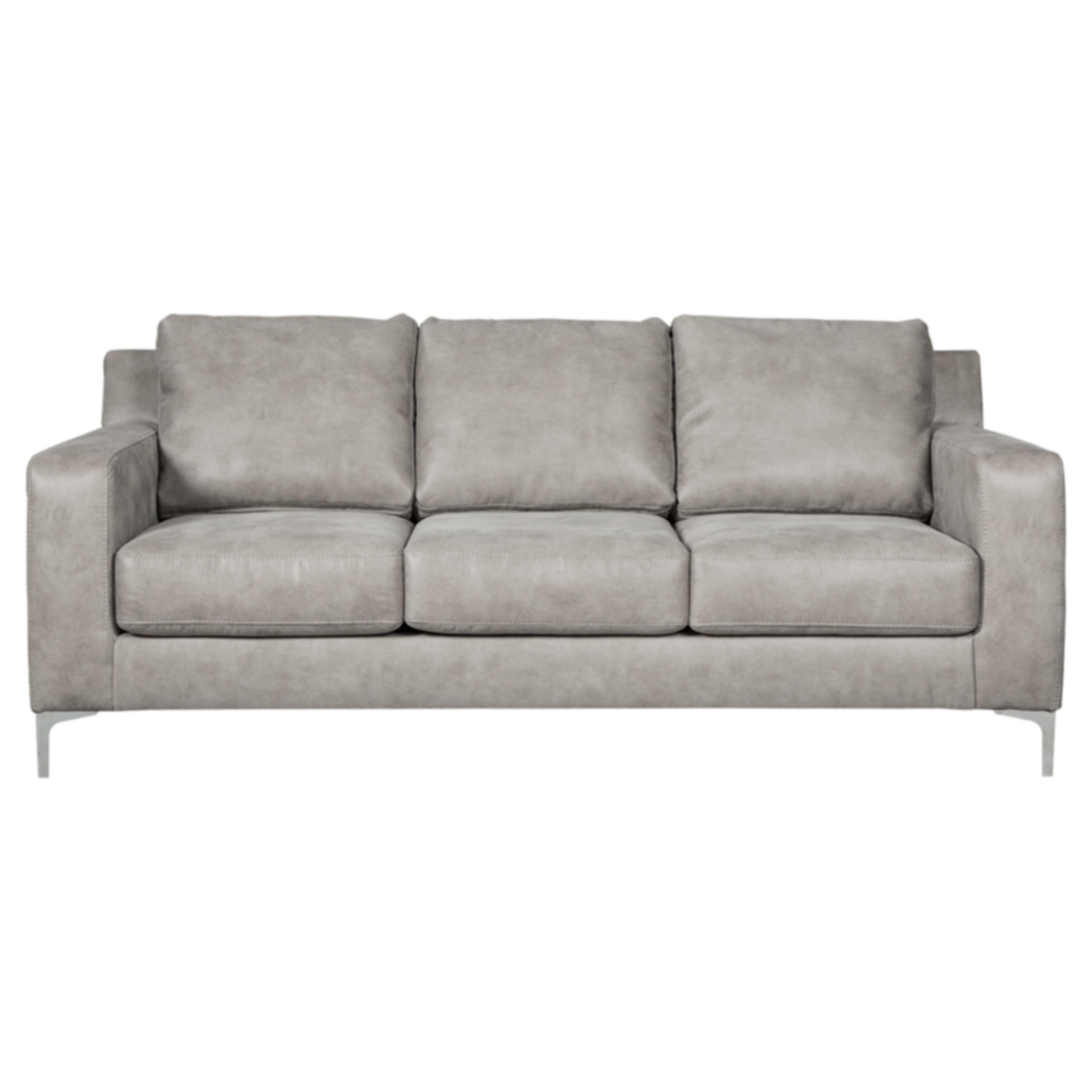Strick & Bolton Cohen Contemporary Grey Sofa