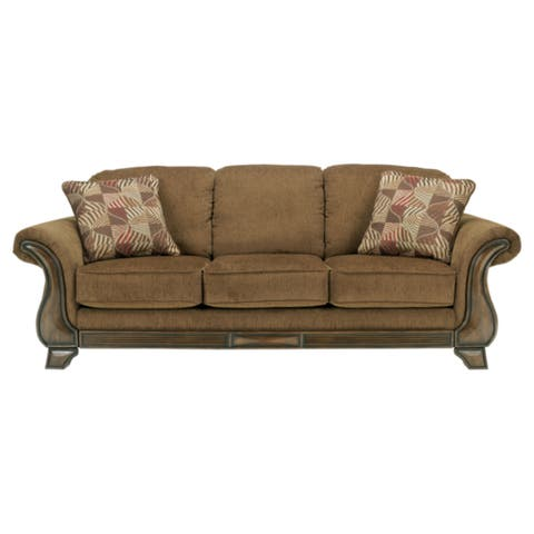 Signature Design by Ashley Montgomery Mocha Traditional Sofa