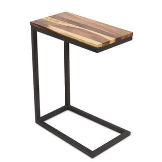 Link to BirdRock Home Acacia Wood TV Tray Side Table / Natural Wood End Table Similar Items in Home Office Furniture
