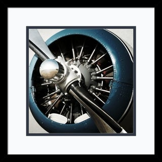 Framed Art Print 'Aeronautical I' by PI Studio 18 x 18-inch