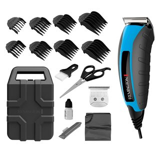 Remington Virtually Indestructible 21-Piece Clippers Kit, (Colors Vary)