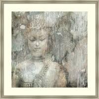 Framed Art Print 'Buddha' by Edward Selkirk 41 x 41-inch