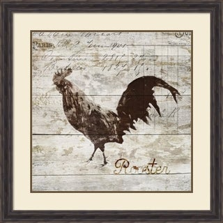 Framed Art Print 'Rooster' by PI Studio 33 x 33-inch