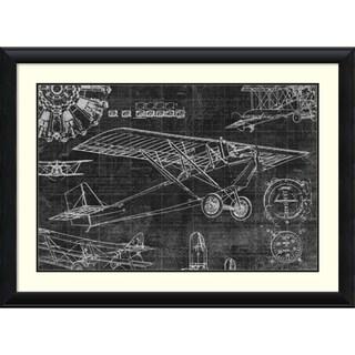 Framed Art Print 'Vintage Aviation I' by Edward Selkirk 46 x 34-inch