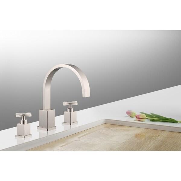 Shop Legion Furniture 8 in. Widespread 2-Handle Bathroom Faucet in ...