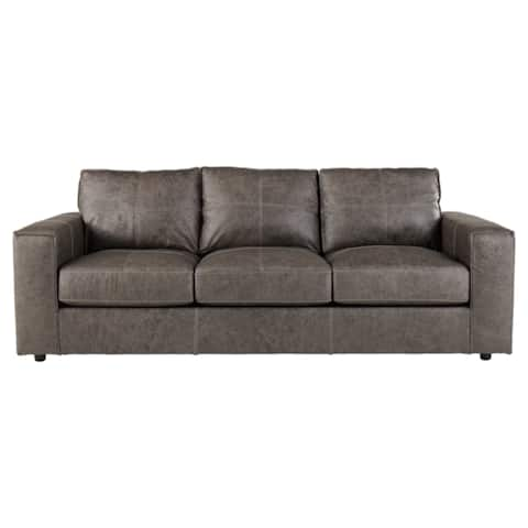 Signature Design by Ashley, Trembolt Contemporary Smoke Gray Sofa