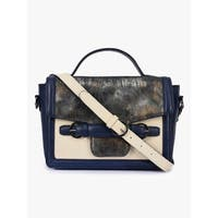 Handmade Phive Rivers Women's Blue Leather Sling Bag (Italy) - One size