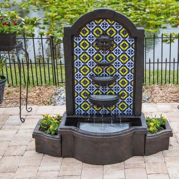 Shop Elegant Lion Outdoor Fountain Free Shipping Today