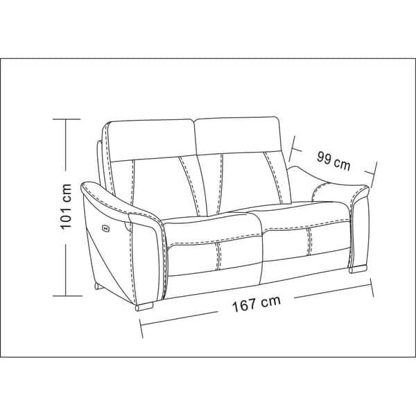 Prime Shop Luca Home Brady Light Grey Electric Reclining Sofa Forskolin Free Trial Chair Design Images Forskolin Free Trialorg
