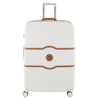 """DELSEY Paris Chatelet Hard+ 28"""" 4 Wheel Spinner Suitcase (Option: Lined - champagne - Spinner)"""