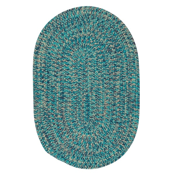 Shop Cameron Tweed Aqua Vibe Area Rug