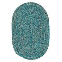 Cameron Tweed Aqua Vibe Area Rug - 4' x 6'