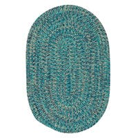 Cameron Tweed Aqua Vibe Area Rug - 2' x 3'