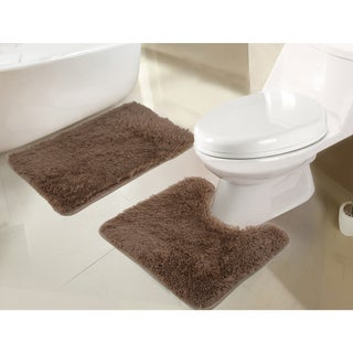 RT Designers Collection Jasper Shaggy 2-Piece Bath Set